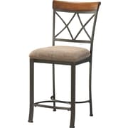 Powell® Hamilton Metal Counter Stool, Beige