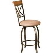 Powell Furniture Hamilton 24 Swivel Counter Stool, Beige (697-726)
