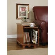 "Powell® 20 1/4"" x 22"" x 14"" Magazine Cabinet Table, Nostalgic Oak"