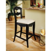 Powell® Hills Of Provence Counter Stool, Antique Black