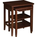 Powell® Shelburne 2 Piece Nested Table, Cherry