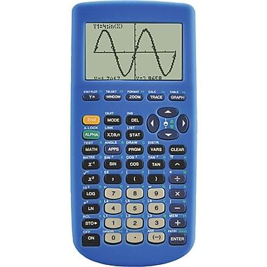Guerrilla Blue Silicon Case for TI-83 Plus Graphing Calculator