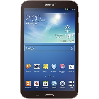 Samsung Galaxy Tab 3 8.0in., Gold/Brown