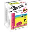 Sharpie Blade Highlighters, Chisel Tip, Pink, Dozen