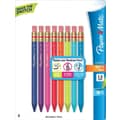 Paper Mate Mates Mechanical Pencils, 1.3mm, Colored Barrels, 8/Pack