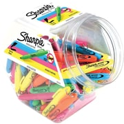Sharpie Mini Highlighters, Chisel Tip, Colored Ink, 72/Pack