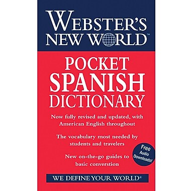 Webster's New World - Dictionnaire d'espagnol