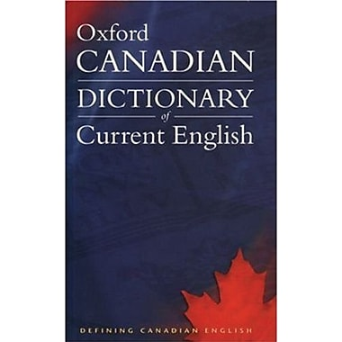 Oxford - Dictionnaire canadien de l'anglais courant