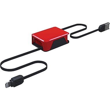 Scosche retractable charger, boltBOX