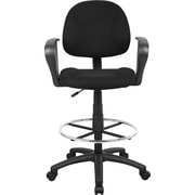 BOSS® Drafting Stool, Black