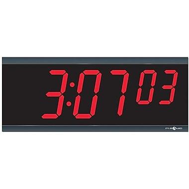 Pyramid™ LED wall clock