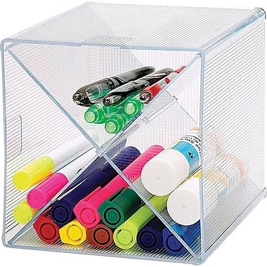 Sparco™ x-Cube Storage Organizer, Clear