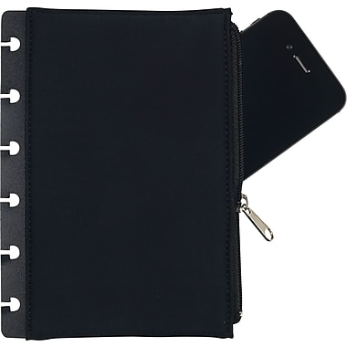 Staples® Arc Removable Zipper Pocket, 4-1/2