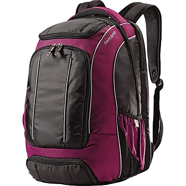 Samsonite Compact Backpack, Black/Purple