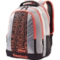Reebok REE-FLEX Backpack, Grey/Vitamin C