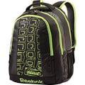 Reebok REE-FLEX Backpack, Black/Neon Green