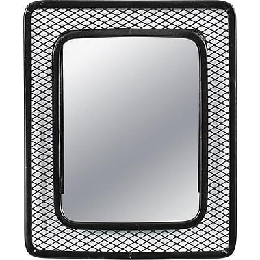 Locker Gear Magnetic Mesh Locker Mirror, Assorted Colours