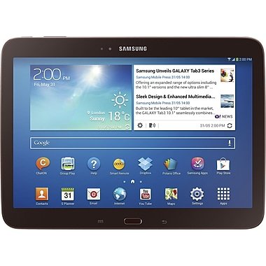 Samsung Galaxy Tab 3 10.1in., Gold/Brown