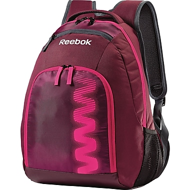 Samsonite Zig Series S Backpack, Burgundy/Dynamic Pink/Cyclone Grey