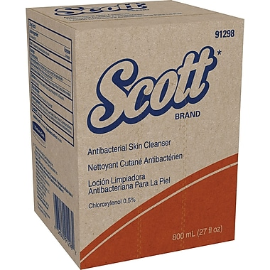 Scott® Antibacterial Skin Cleanser, Refill, Light Floral Scent, 800 ml