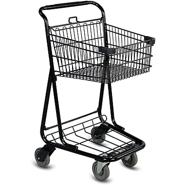 EXpress3540 Convenience Shopping Cart, Black