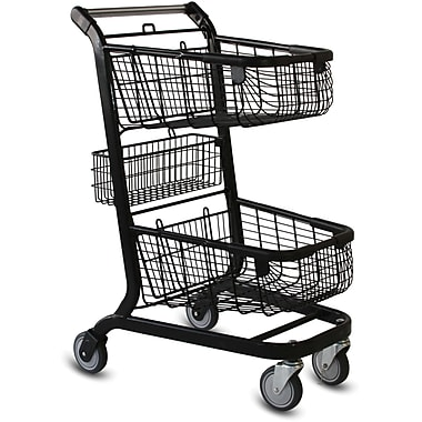 EXpress6000 Convenience Shopping Cart, Black