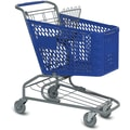 V-Series Traditional Shopping Cart, Small, Dark Blue