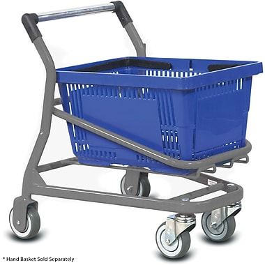 Kiddy EZCart Shopping Cart, Metallic Gray