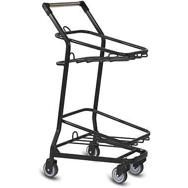 EZcart Shopping Cart, Black