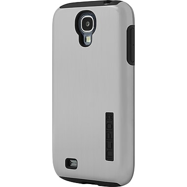 Incipio DualPro Shine for Samsung Galaxy S4, Silver/Black
