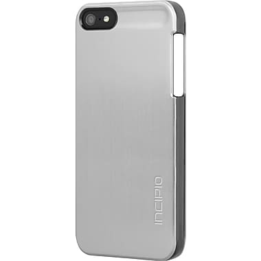 Incipio DualPro Shine Case for iPhone 5, Silver/Black