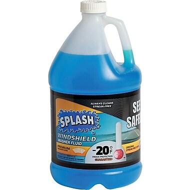 Splash® Original Blue Windshield Washer Fluid, 1 Gallon