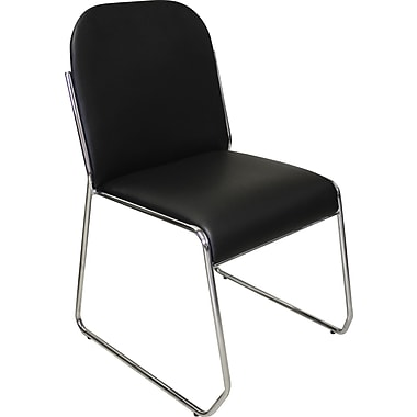 Marco Chrome Sled Base Chair, 4/Pack