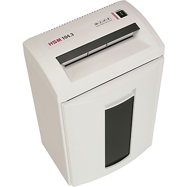 HSM Classic 104.3, 24 Sheet, Strip Cut Shredder