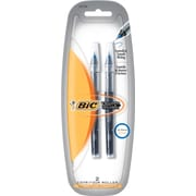 BIC Fine Rollerball Pens For BIC® Triumph Rollerball Pens, 2/Pack, Blue