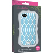 Elibrium 365 Cases for iPhone 5, Trellis Blue