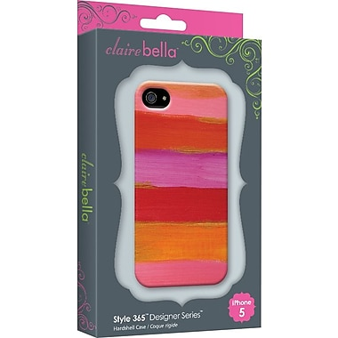 Elibrium 365 Cases for iPhone 5, Paintbrush Pink