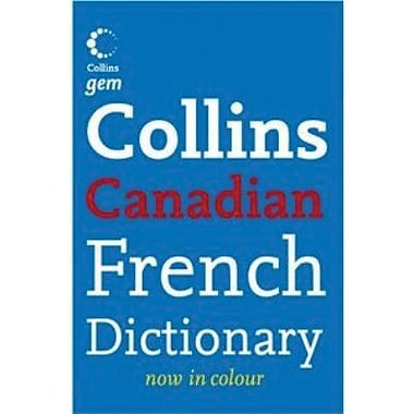 Collins Gem Canadian French Dictionary