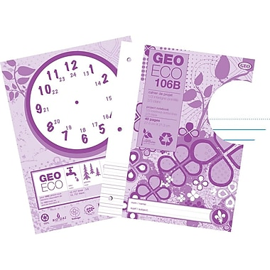 Geo 100% Recycled & Recyclable Project Book, 40 Pages