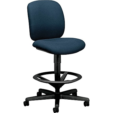 HON ComforTask/Drafting Stool, Navy Fabric