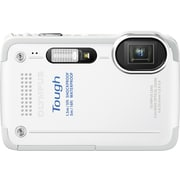 Olympus Tough TG-630 iHS 12MP Digital Camera, White