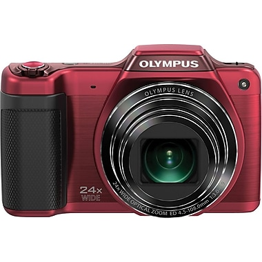 Olympus SZ-15 16MP Digital Camera, Red