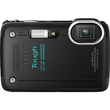 Olympus Tough TG-630 iHS 12MP Digital Camera, Black