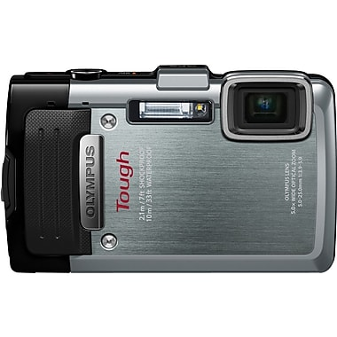 Olympus Tough TG-830 iHS 16MP Digital Camera, Silver