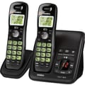 Uniden D1483-2BK DECT 6.0 2 Handset Cordless Telephone with Digital Answering Machine System/Caller ID/Call Waiting