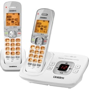 Uniden ® D1780-2W DECT 6.0 Cordless Telephone with Digital Answering Machine/Caller ID/Call Waiting