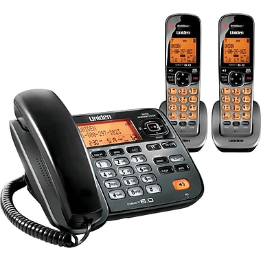 Uniden D1785-2T DECT 6.0 2 Handset Cordless Telephone with Digital Answering System/Caller ID/Call Waiting