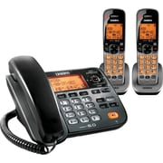 Uniden® D1785-2T DECT 6.0 2 Handset Cordless Telephone with Digital Answering System/Caller ID/Call Waiting