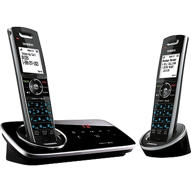 Uniden D3280-2 DECT 6.0 2 Handset Cordless Telephone with Digital Answering System
