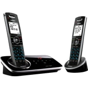 Uniden® D3280-2 DECT 6.0 2 Handset Cordless Telephone with Digital Answering System